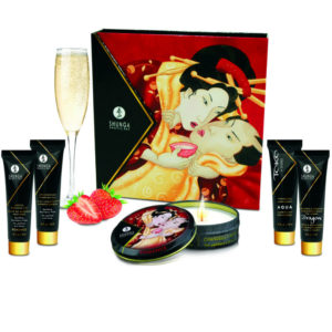 kit secret geisha fresas y champagne