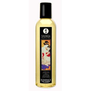 Aceite erotico para masajes Romance - Fresas y Champagne