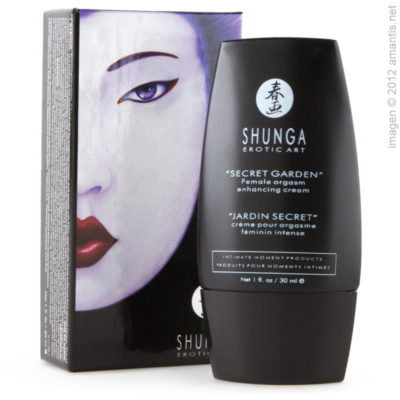 Crema aceleradora del orgasmo femenino - Jardín Secreto - Shunga