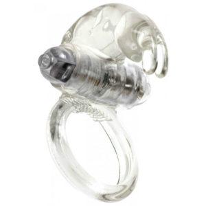 conejito anillo vibrador transparente