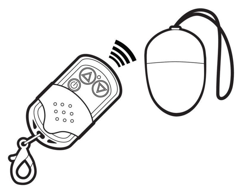huevo vibrador mini control remoto