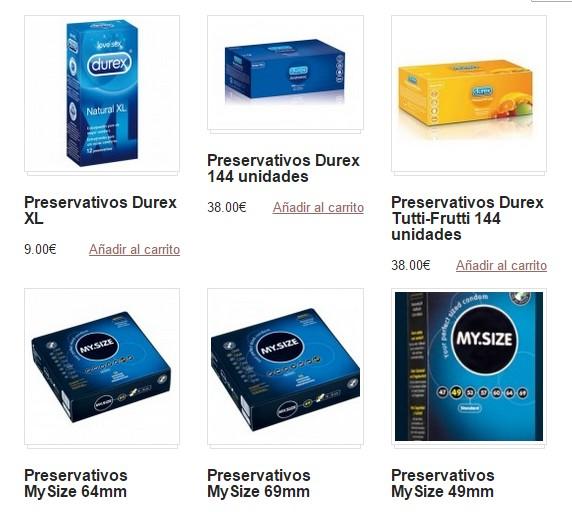 preservativos tamanos y marcas