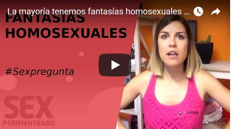 La mayoría tenemos fantasias homosexuales