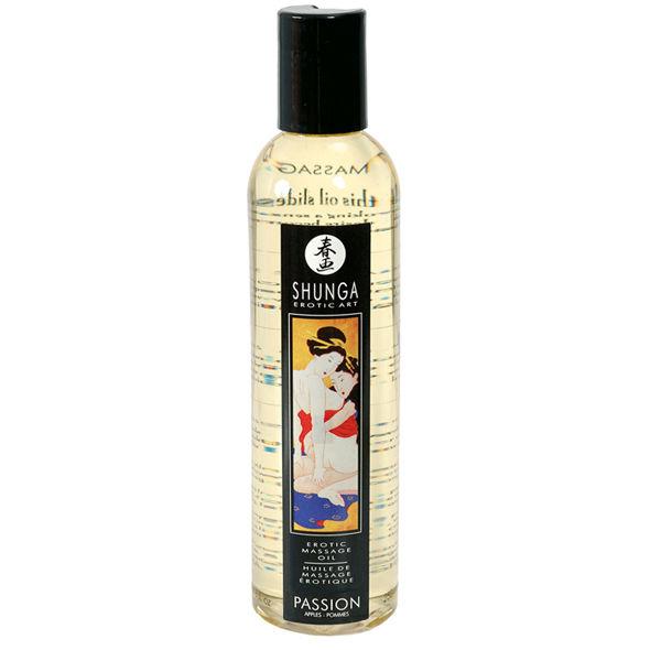 Aceite erotico para masajes Passion - Manzana