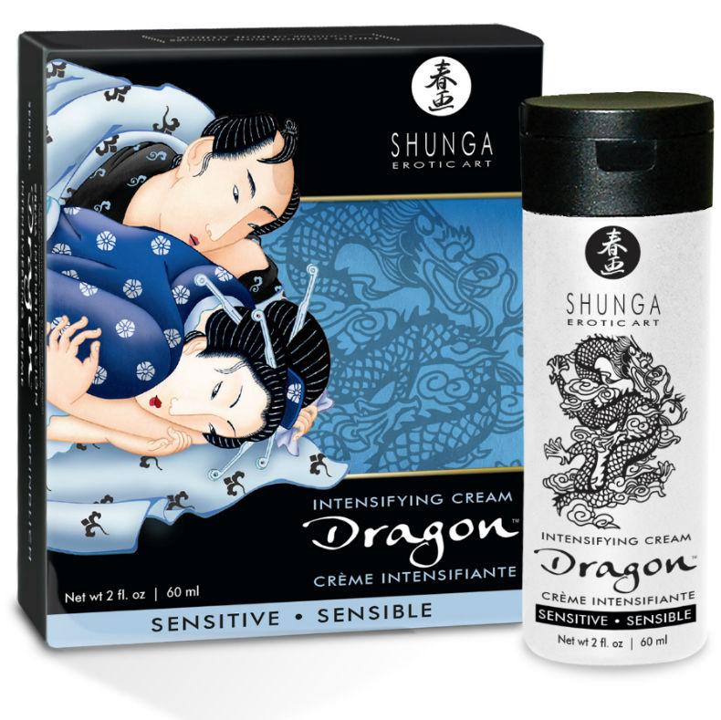 crema potenciadora de la erecion sensitive suave - Dragon