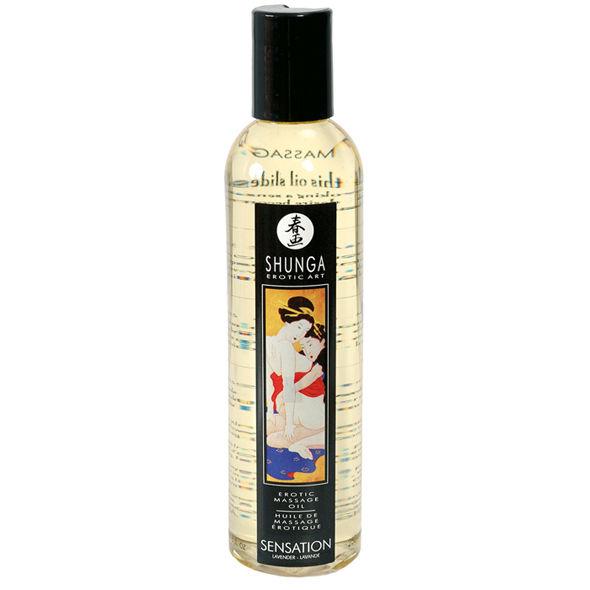 Aceite para masajes eroticos Sensation - Lavanda
