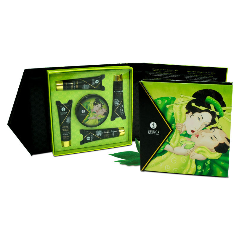 caja kit secret geisha exotic te verde