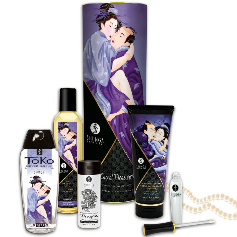 coleccion placeres carnales shunga