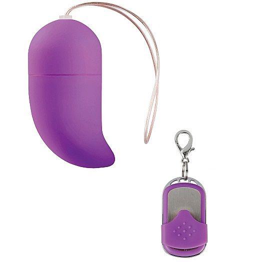 huevo vibrador con estimulacion del punto g lila
