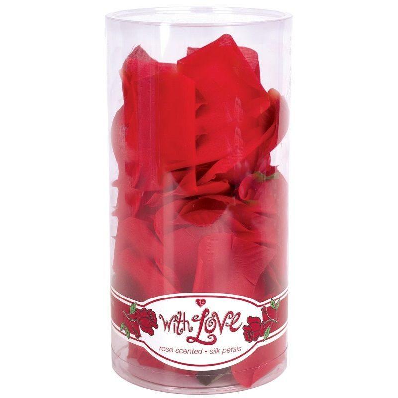 petalos de rosa con esencia