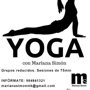 mariana simón yoga gijón
