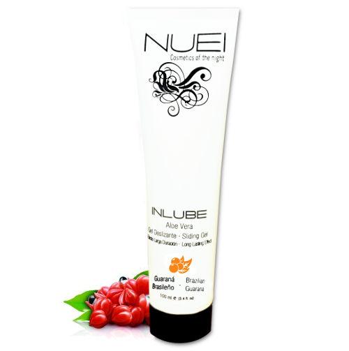 gel lubricante nuei inlube aloe vera guarana