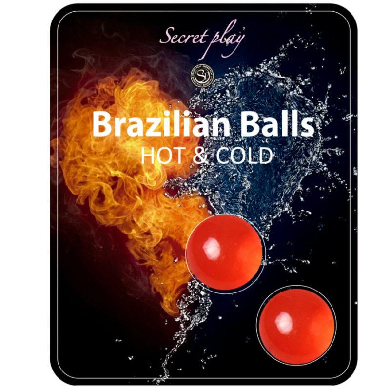 Bolas Brasilenas lubricante efecto calor-frio