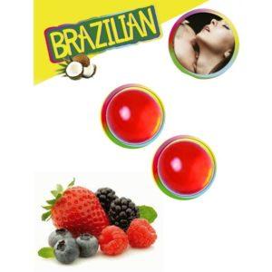 bolas brasilenas sabor frutas del bosque