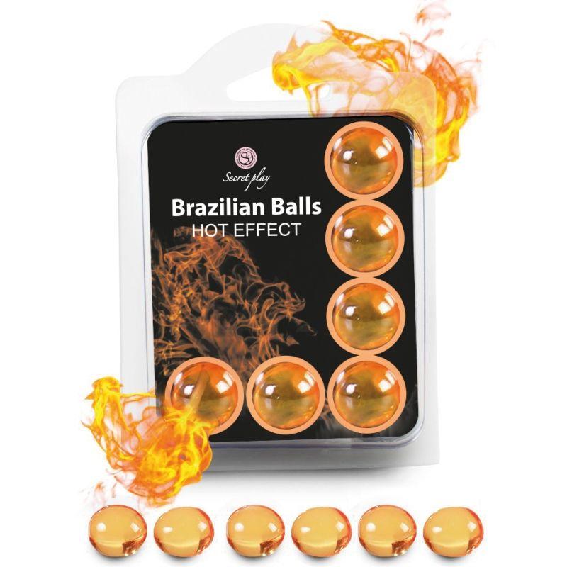brazilian balls efecto calor 6 unidades