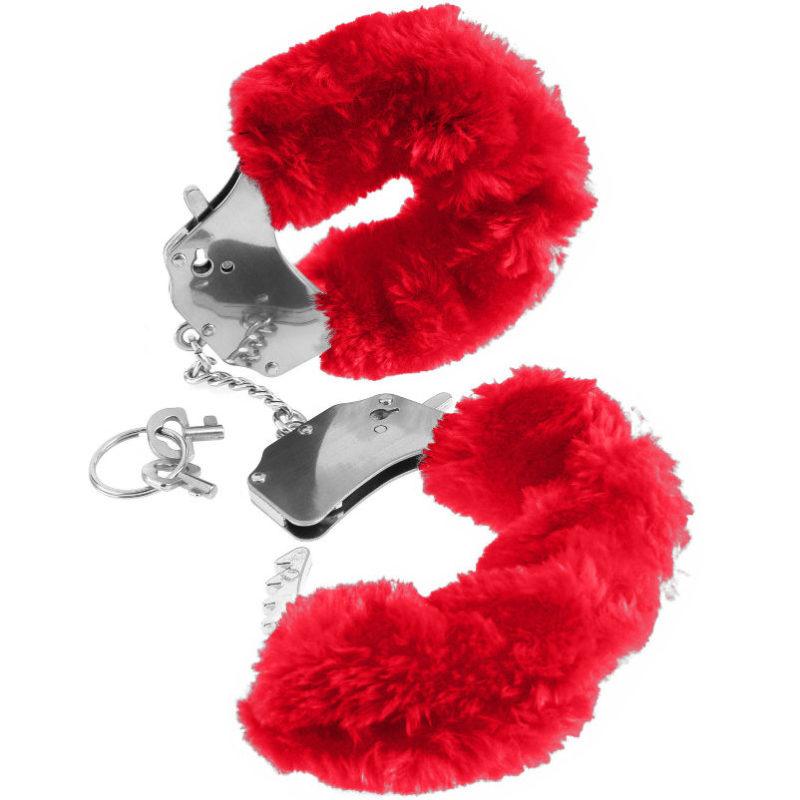 esposas de pelo color rojo