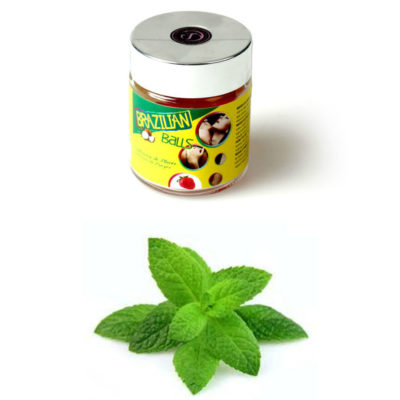 tarro brazilian balls lubricantes sabor menta