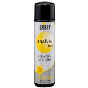 lubricante silicona con gel relajante anal