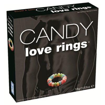 anillo para el pene de caramelo