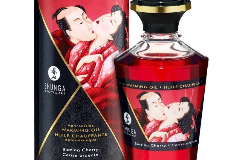 aceite masaje erotico shunga cereza