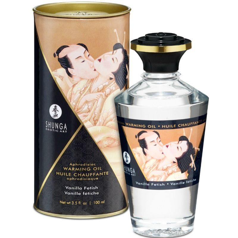 aceite masaje erotico shunga vainilla fetiche