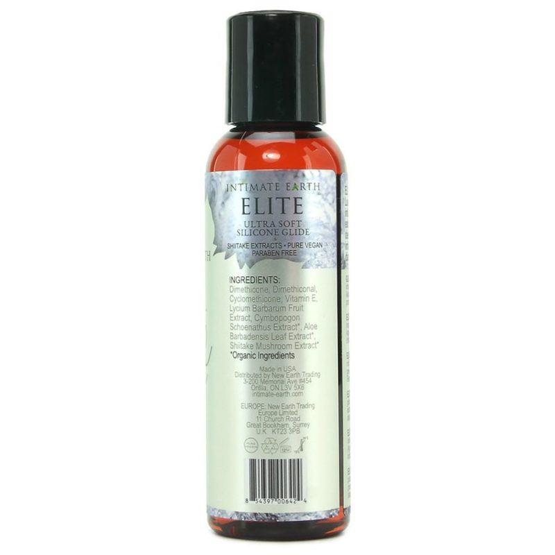ingredientes lubricante silicona intimate earth