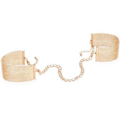 esposas pulsera bijoux magnifique dorado