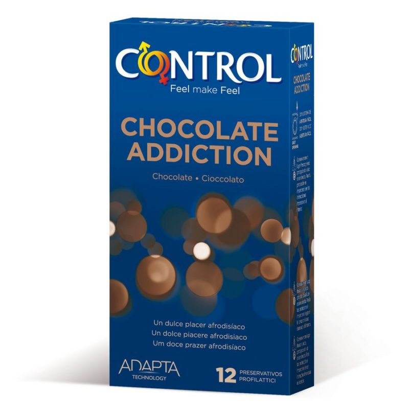 preservativo sabor chocolate control adapta