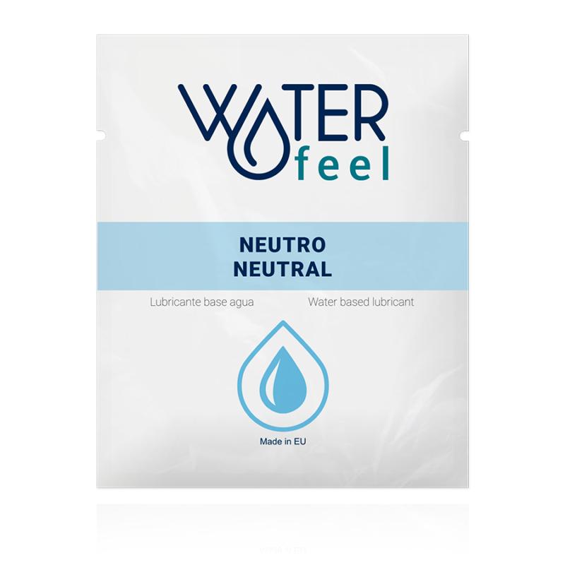 lubricante monodosis base agua waterfeel