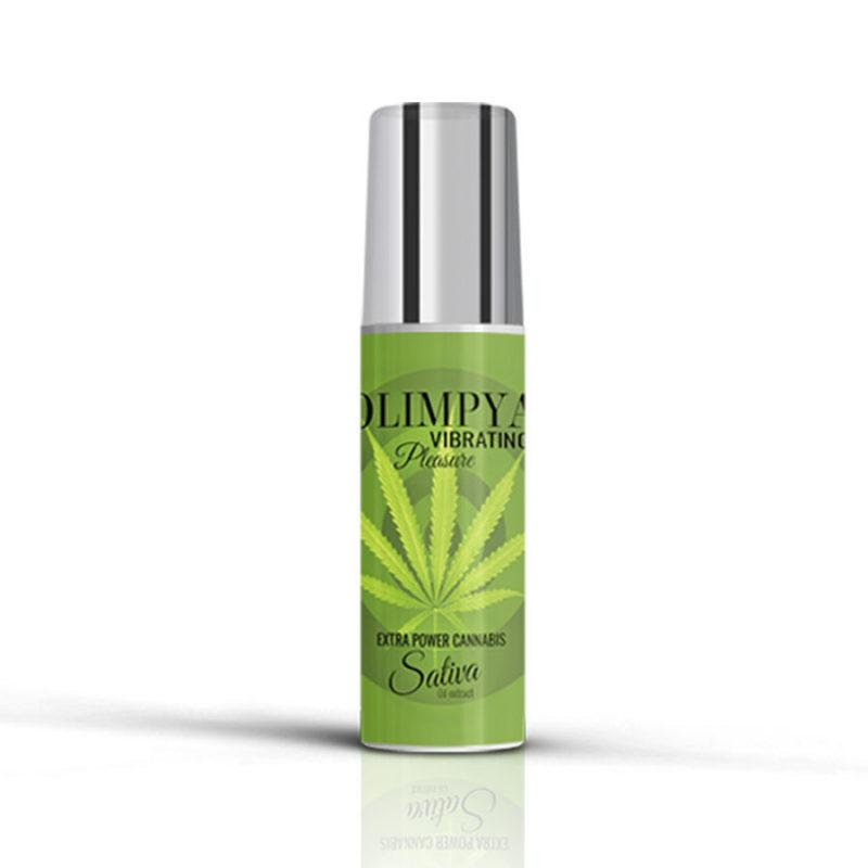 vibrador liquido olimpya extra cannabis sativa
