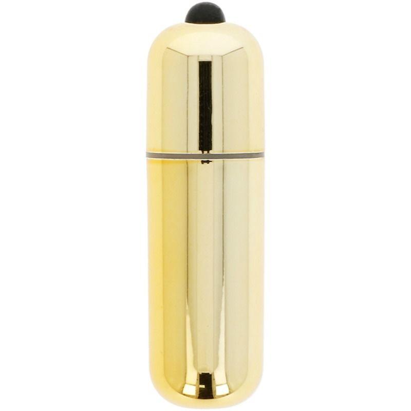 bala vibradora dorada