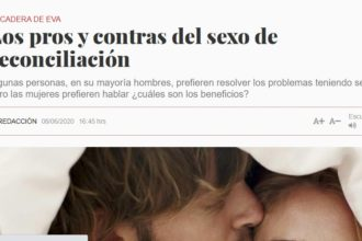sexo reconciliación